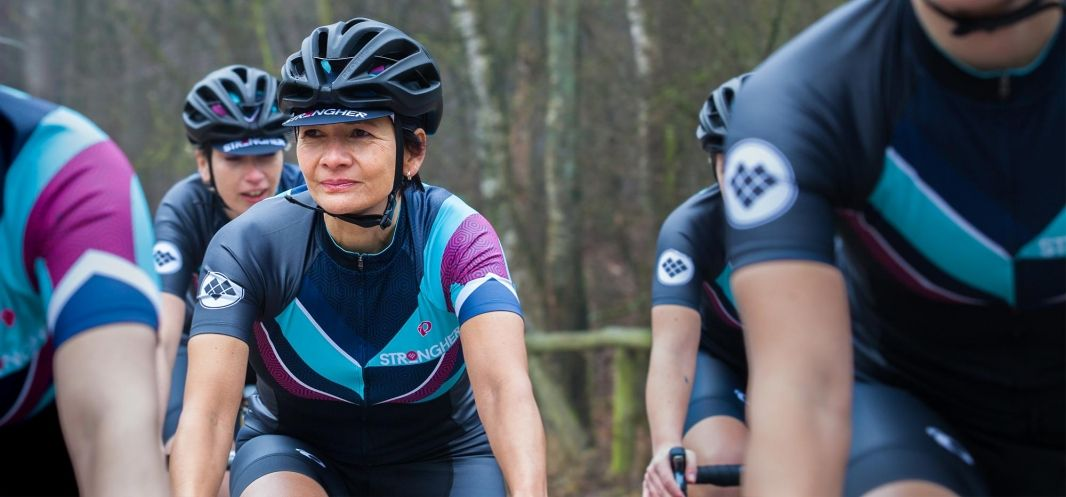 """KASK and Strongher will create together unique events and inspire women  around the world to ride their bikes."""" 7856fad1f"""