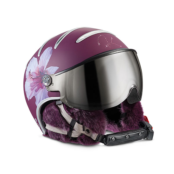 lifestyle lady hibiscus helmet kask